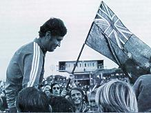 Coach Rale Rasic on fan shoulders